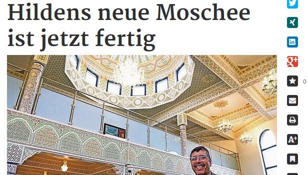 Hildens neue Moschee ist jetzt fertig bei rp-online.de